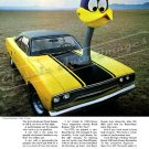 "1970 Plymouth Road Runner Ad Digitized and Re-mastered Poster Print ""The Loved Bird"" 24"" x 32"""