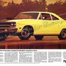 "1970 Plymouth Road Runner Ad Digitized and Re-mastered Poster Print ""No Put On"" 24"" x 36"""