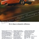 "1965 Plymouth Satellite Ad Digitized and Re-mastered Poster Print ""Volumetric Efficiency"" 24"" x 36"""