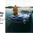 "1970 Firebird Formula & Trans Am Ad Digitized & Re-mastered Print ""Beginning of Tomorrow"" 24"" x 50"""