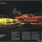 "1974 Pontiac Firebird Trans Am Ad Digitized & Re-mastered Print ""Part Engineering Part Soul"" 24""x36"""