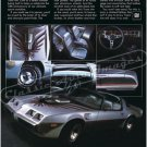 "1979 Pontiac Firebird Trans Am Ad Digitized & Re-mastered Print ""Very Rare Very Well Done"" 24"" x 32"""