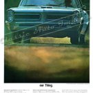 "1965 Pontiac GTO Ad Digitized & Re-mastered  Poster Print ""Our Thing"" 24"" x 32"""