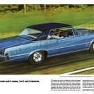 "1965 Pontiac GTO Ad Digitized & Re-mastered Poster Print ""Purists Call it Names"" 24"" x 36"""