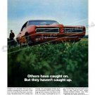 "1968 Pontiac GTO Ad Digitized & Re-mastered Poster Print ""But They Haven't Caught Up"" 24"" x 32"""