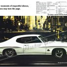 "1970 Pontiac GTO Judge Ad Digitized & Re-mastered Poster Print ""Respectful Silence 2"" 24"" x 36"""