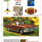 "1966 Pontiac Beaumont Ad Digitized & Re-mastered Poster Print ""Do Something Exciting"" 24"" x 36"""