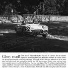 "1961 Chevrolet Corvette Ad Digitized & Re-mastered Print ""Glory Road"" 18"" x 24"""