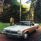 "1973 Chevrolet El Camino Ad Digitized & Re-mastered Print Brochure Cover 24"" x 36"""