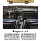 "1967 Chevrolet El Camino Ad Digitized & Re-mastered Print ""Sharp as a Tach"" 18"" x 24"""