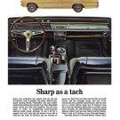 "1967 Chevrolet El Camino Ad Digitized & Re-mastered Print ""Sharp as a Tach""  24"" x 36"""