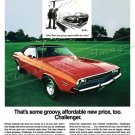 "1971 Dodge Charger Ad Digitized & Re-mastered Print ""Some Kind of Groovy""  24"" x 36"""