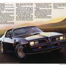 "1977 Pontiac Firebird Brochure Centerfold Ad Digitized & Re-mastered Print  24"" x 36"""