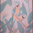 Dan Goad Birds of Paradise II Print Signed Artist Proof