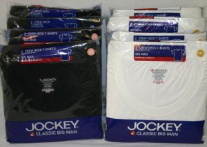 Jockey T-Shirts in Packages 3x and 4x
