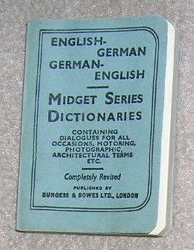 Midget Series Dictionaries English / German - Little Book