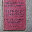 English /  Finnish Dictionary - Little Book
