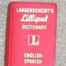 Langenscheidt's Lilliput Dictionary English /  Spanish - Little Book
