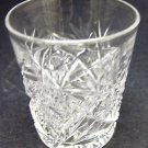 American Brilliant Period Cut Glass shot glass Antique Crystal