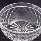 Signed Waterford glass Hand Cut bowl Irish Crystal