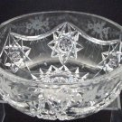 ABP  Signed Hawkes American Brilliant Period Hand Cut bowl Antique Crystal