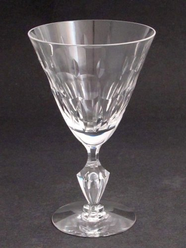 Cut Glass Signed Tiiffin water goblet