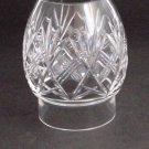 Hand Cut Glass lamp shade globe