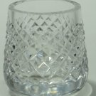 Signed Waterford CUT GLASS Alana tooth pick holder
