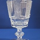 Signed Waterford crystal Hibernia goblet, hand cut in Ireland