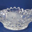 American Brilliant Period hand Cut Glass cool whip bowl Antique gift
