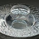 Signed orrefors  candle holder, CRYSTAL
