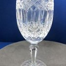 Signed Galway crystal Castlerosse water goblet glass Crystal older Hand cut