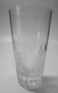 Hand Cut  tall juice glass