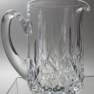 Waterford crystal Lismore pitcher glass Signed