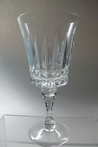 Lenox Cut glass Gala Crystal wine  Made in USA Mt Pleasant PA mouth blown