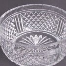 Signed  Webb Corbett Hand Cut Glass  bowl english pedestal blown blank