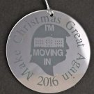 Trump 2016 make Christmas great again ornament USA mirror decoration