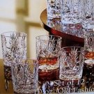 Fifth Ltd Avenue Crystal Set 12 old fashioned for 10 oz  glass