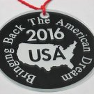 Bringing Back The American Dream ornament USA mirror decoration USA 2016