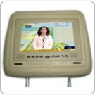 Car Headrest DVD Player With 7-inch TFT LCD & SD & USB & Game