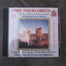 CD,folklorical flute music from Peru Folklorico, 23 titles