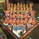 Handpainted chess, spanish against Incas,Game