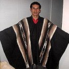 Original typical peruvian Poncho, alpacawool, outerwear