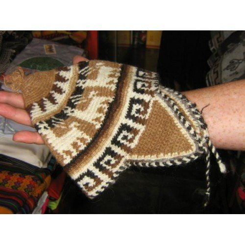 Typical peruvian woolen hat with ear flaps,cap