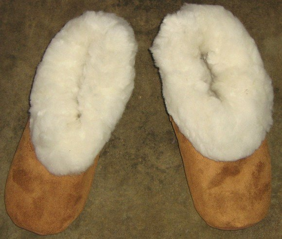 house shoes,slippers made of merinowool and leather