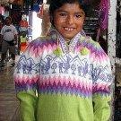 Sweater,V-neck,Jumper, Alpaca Wool,peruvian design