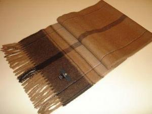 Brown shawl,wrap made of pure Babyalpaca wool