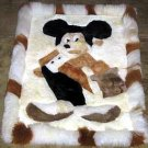 Disney Alpaca fur Rug, Mickey Mouse, 30x24 Inches