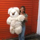 Teddy bear, plush toy of pure Alpaca fur, 31.5 inches