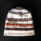 Knitted wool hat,cap made with soft alpacawool